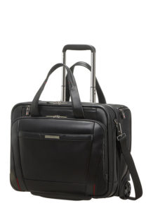 Pro-Dlx 5 Lth Rolling Tote  15.6&#8243