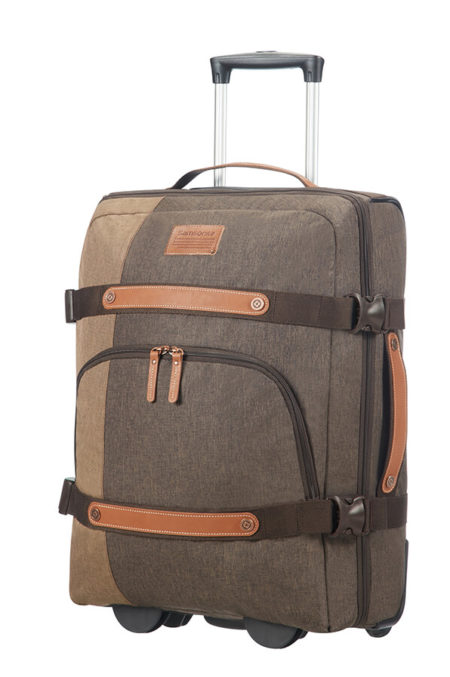 Rewind Natural Duffle With Wheels 55cm