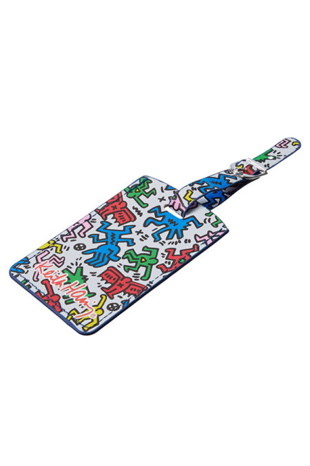Travel Accessories Set of 2 Rectangular Keith Haring Luggage Tags