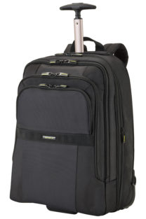 Infinipak Laptop Backpack with Wheels Expandable 43.9cm/17.3&#8243