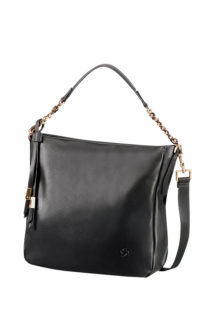 Satiny Rounded Hobo