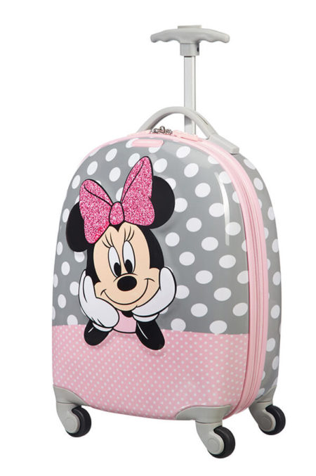 Minnie Mouse Authentic Style Pink /& White School Satchel Messenger Courier Bag